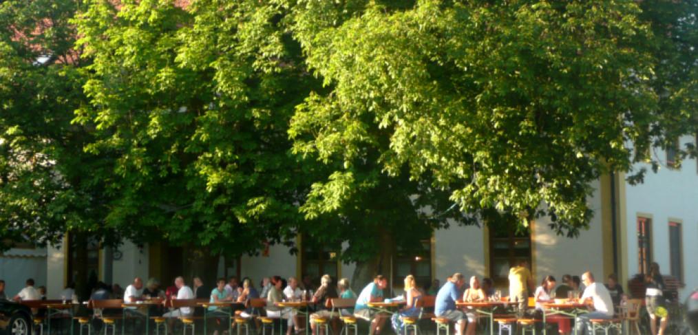 Biergarten am Dreifaltigkeitsberg in Rimbach