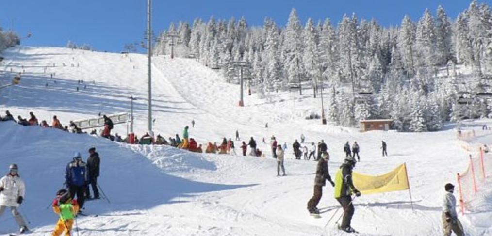Skigebiet Bodenmais Skifahren Am Silberberg Im Bayerischen Wald